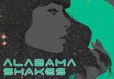 Alabama Shakes poster by Scott Ortner