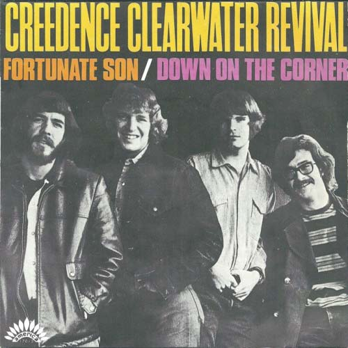 Creedence Clearwater Revival - Fortunate Son - Album cover