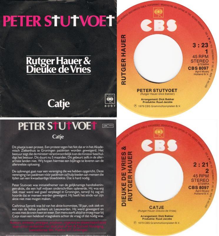 Rutger Hauer & Dick Bakker - Peter Stutvoet - Catje