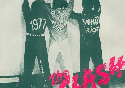 The Clash - White Riot single art