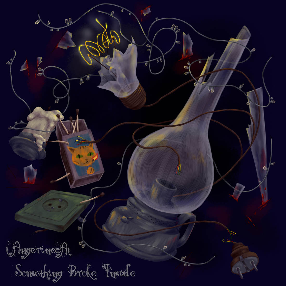 tAngerincAt - Something Broke Inside single